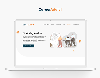 Web design for CV services