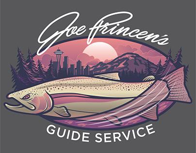 JOE PRINCEN'S GUIDE SERVICE BRANDING