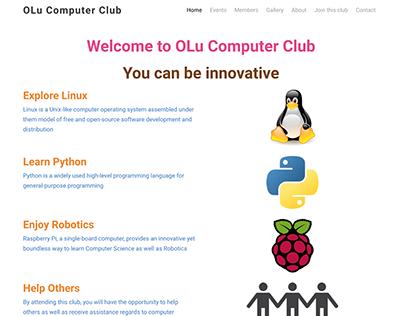 Computer Club Website