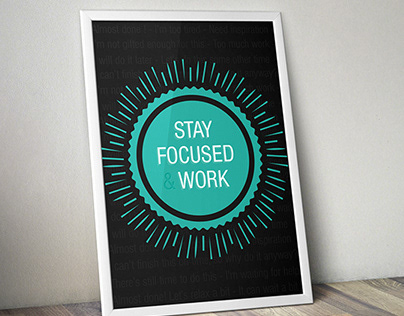 Stay Focused and Work
