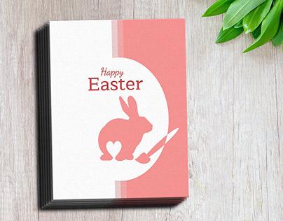 Easter Love - Illustration & postcard card design