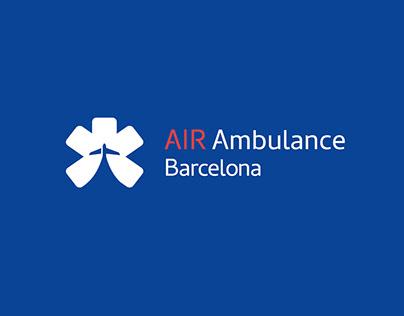 IDENTIDAD AIR AMBULANCE BARCELONA