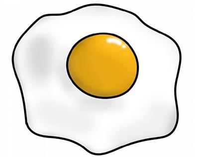 Как нарисовать готовые блюда и фастфуды