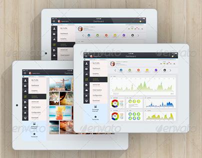 Tablet App. Deepfic - Admin Panel