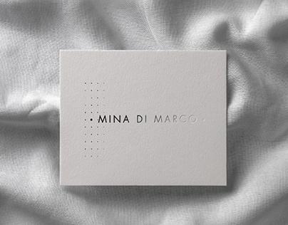 Mina Di Marco. Brand Identity