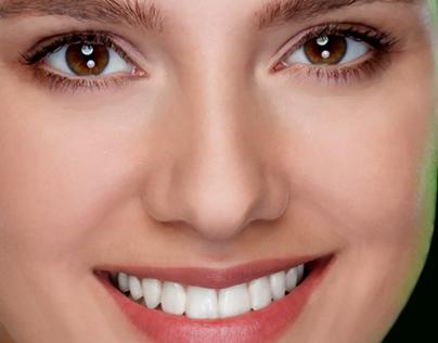 Retoch woman face