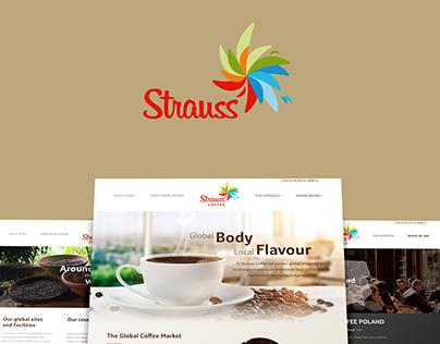 Strauss Coffee | Redesigned Website