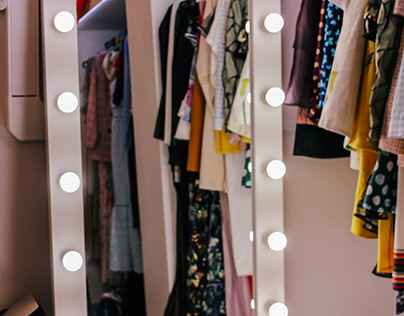 dresses for a showroom