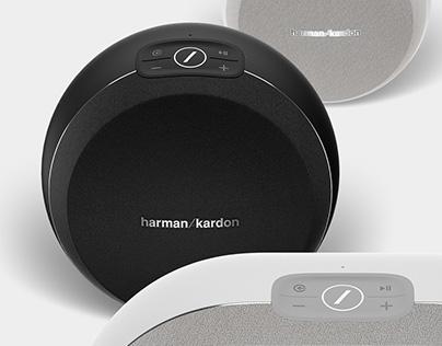 Harman Kardon Omni+ /product renderings