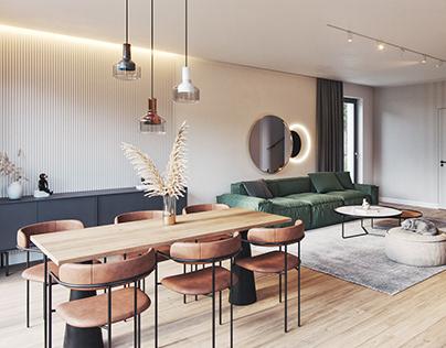House interior CGI