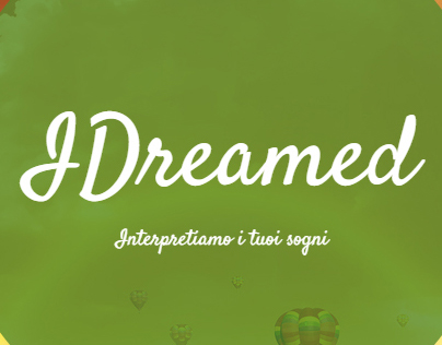 IDreamed, understanding dreams.