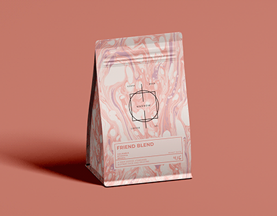Specialty Coffee Label Template - Download Link