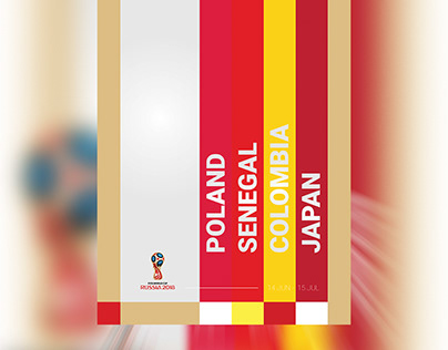 Posters - 2018 FIFA World Cup Russia (Group H)