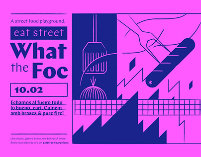 Eat Street Visual Identity