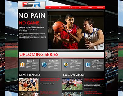 Sports News Website on WebsiteBuilder