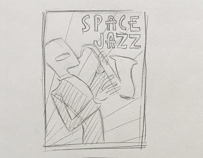 Art Deco sketches