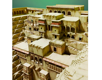 Study Of Historical Structure - Chand Baori