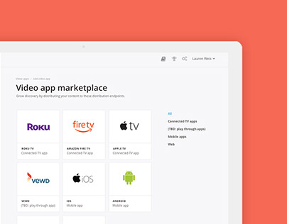 Video App Marketplace