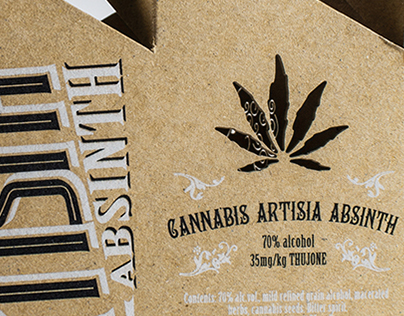 ARTISIA absinth shots packaging