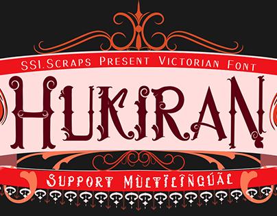 Hukiran Victorian Font
