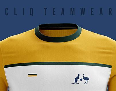 Socceroos Football Jersey Designs — CLIQ Teamwear