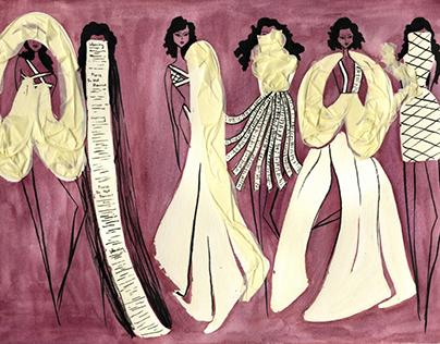Advanced Fashion Sketching: Mock Margiela