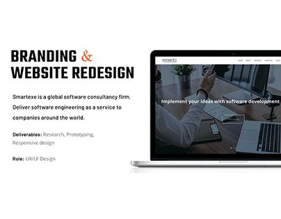 Smartexe Website Redesign