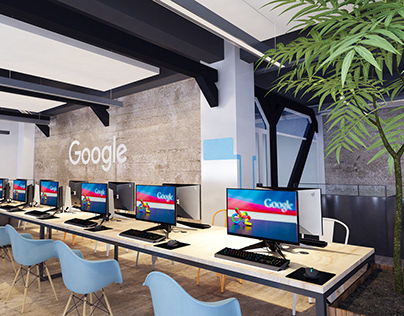 Google Dublin Office concept