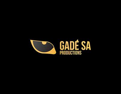 Logo réalisé pour Gadé Sa Productions