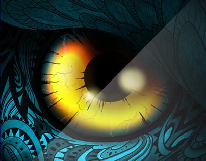 Ronin Owl Escape (Game Art Work)