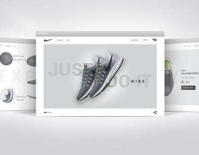 E-commerce  sneakers website