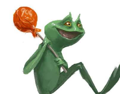 Tootsie - Pop Frog