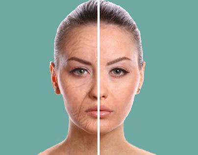 Skin Care remove weakness motion graphics