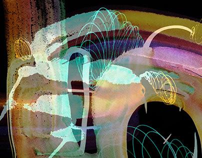 Digitalized Watercolor Paintings
