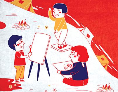 Danang Animation Camp Promoting Illustration