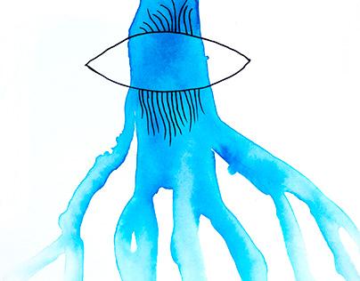Illustrations for poems by Monika Maciasz