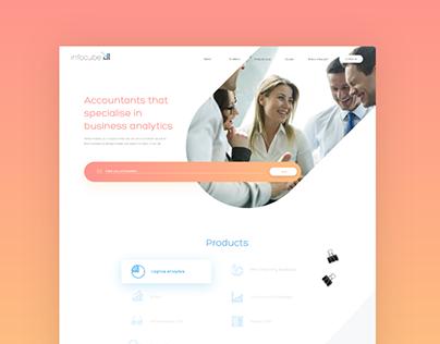 Infocube | website