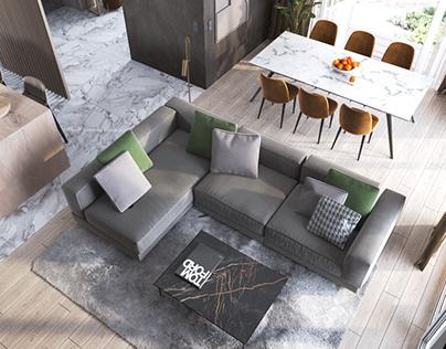 Дизайн-проект дома в Краснодаре