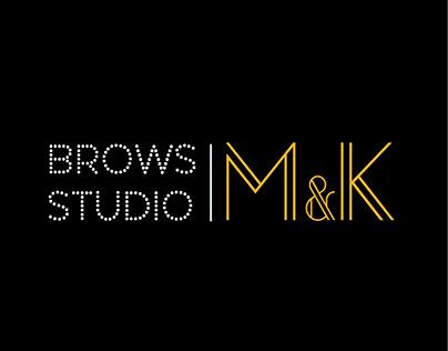 LOGO DESIGN / Brows Studio By M&K
