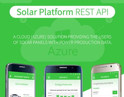 Solar Platform REST API