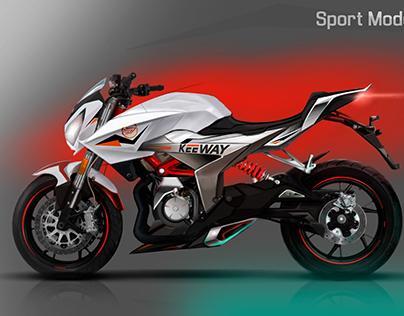 Keeway Motor / Benelli - Motorcycle Design Project