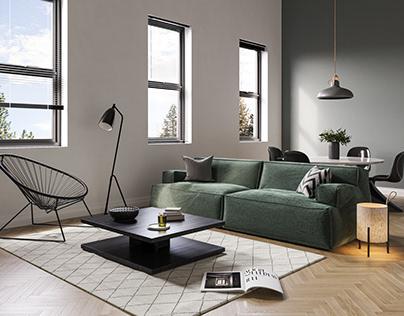 Modern Apartment   Download Scene