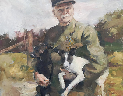 Portrait of Mykhailo Omelianovych-Pavlenko
