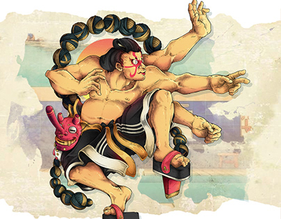 Street Fighter (illustrated edition)
