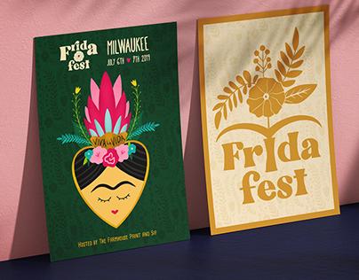 Frida Fest MKE: Branding & Collateral