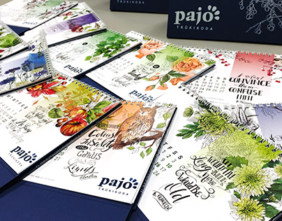 Pajo Print Calendar 2019.