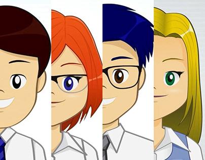 Personagens TV Giga