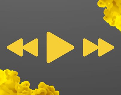 Music plauer app design UI / UX