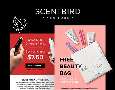 Scentbird | Email Marketing Design
