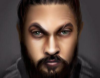 Jason Momoa. See. Baba Voss - portrait
